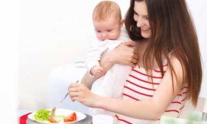 Правильное питание мамы при грудном вскармливании