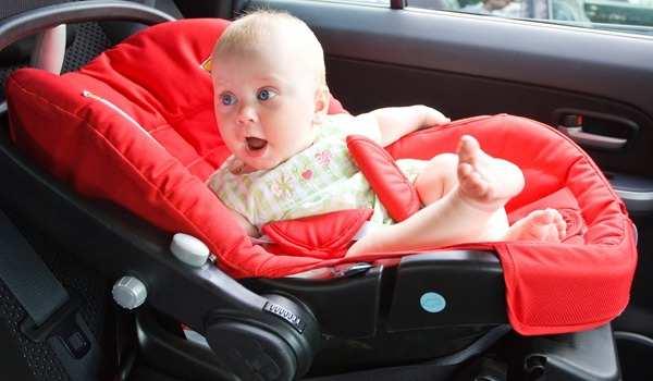 кресло для детей в машину