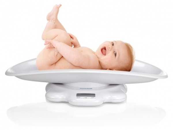 Нормы прибавки веса по месяцам до года