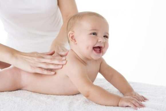 Массаж для грудничков