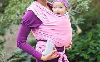 Как сделать (сшить) слинг для новорожденного своими руками