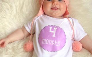 Примерный режим дня для 4-х месячного ребенка, как приучить грудничка и советы