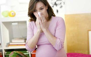 Лечение насморка при грудном вскармливании, капли в нос кормящей маме