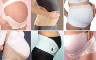 Виды бандажей для беременных и какой лучше, как правильно одевать и носить