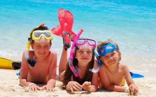 Куда и когда лучше поехать отдыхать с детьми в Тунис на пляжный отдых