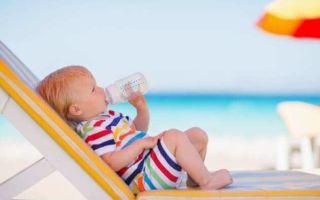 Когда можно ехать на море с ребенком, и что ему взять на отдых