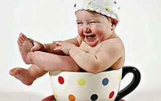 С какого месяца можно давать чай для грудных детей