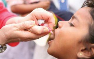 График проведения вакцинации от полиомиелита прививкой, последствия и реакции у детей, за и против