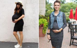 Как модно одеться беременным на разных сроках и как выбрать стильные вещи