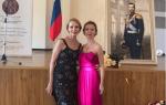 Елена Захарова оделась в роскошное платье и побывала на кадетском балу