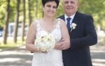 Елена Голунова стала невестой в 51 год