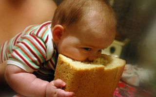 Когда и как можно давать хлеб грудничку в прикорм, какие изделия и что не желательно ребенку