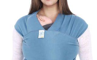 Как правильно выбрать слинг шарф для новорожденного