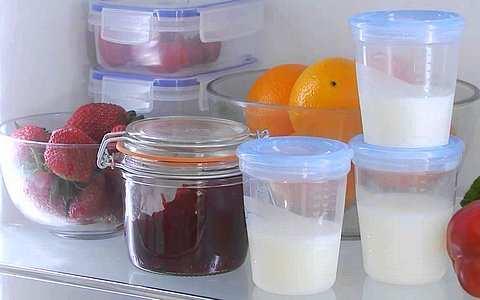 сцеженное молоко на длительное хранение
