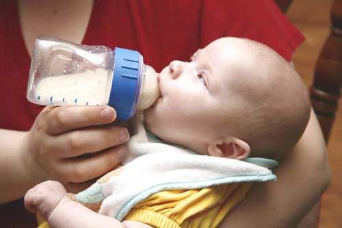 питье на искусственном вскармливании