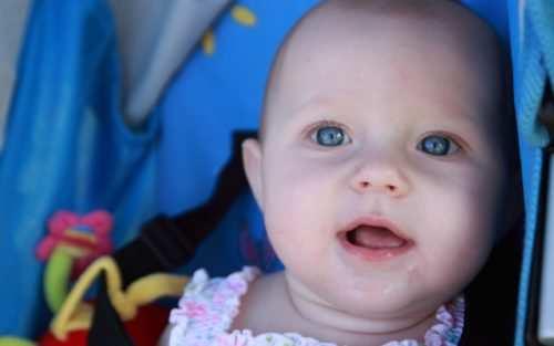 У ребенка синяки под глазами