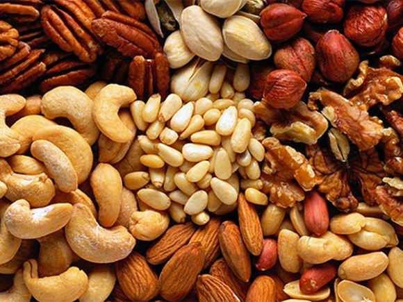 Польза и вред от различных видов орехов
