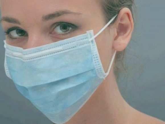 марлевую стерильную маску