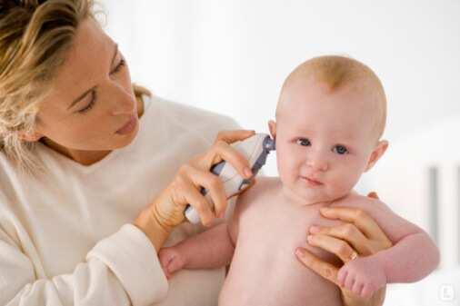 Отит у грудничка: симптомы, профилактика