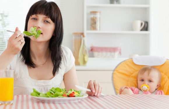 овощи и фрукты при кормлении