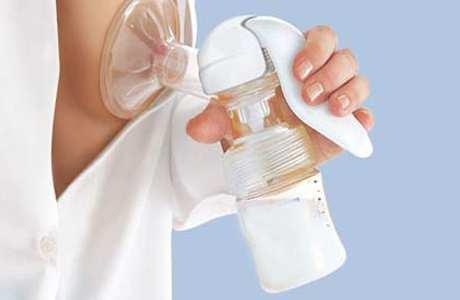 Использование молокоотсоса