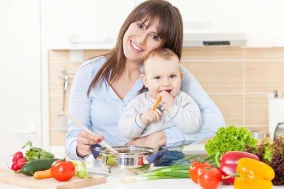 Правильное питание во время грудного вскармливания
