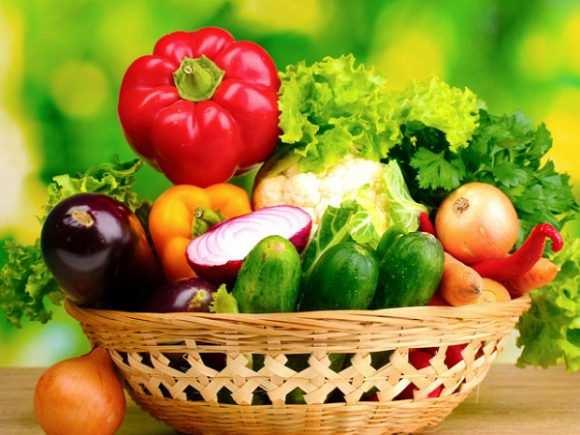 Овощи в рационе