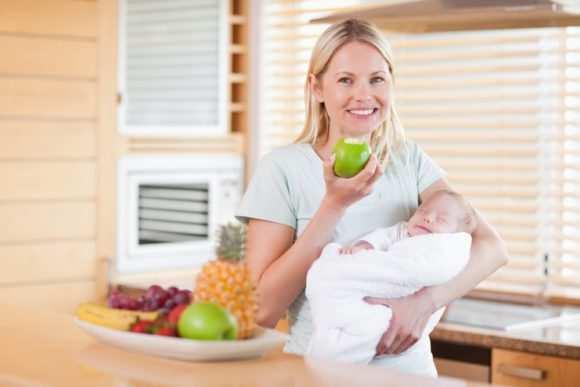 еда после родов