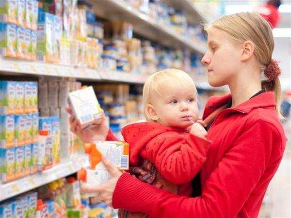 готовое питание для маленьких детей