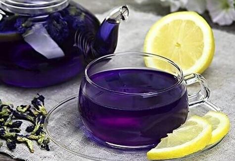 пурпурный чай чанг шу в заварнике
