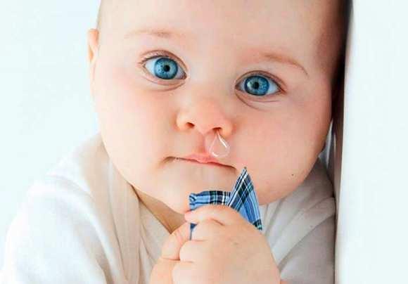 насморк у малыша