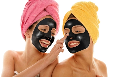 black mask на девушках