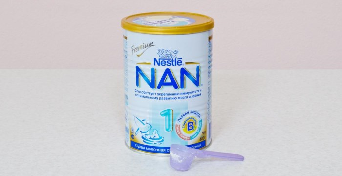 банка Nestle NAN 1 Premium
