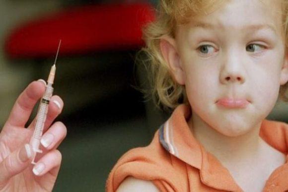 ребенок боится укола