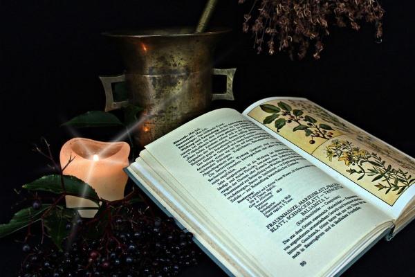 книга и свечка