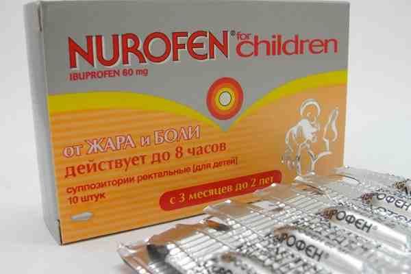 жаропонижающее для детей