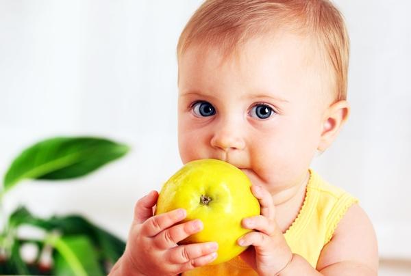 грудничок с яблоком