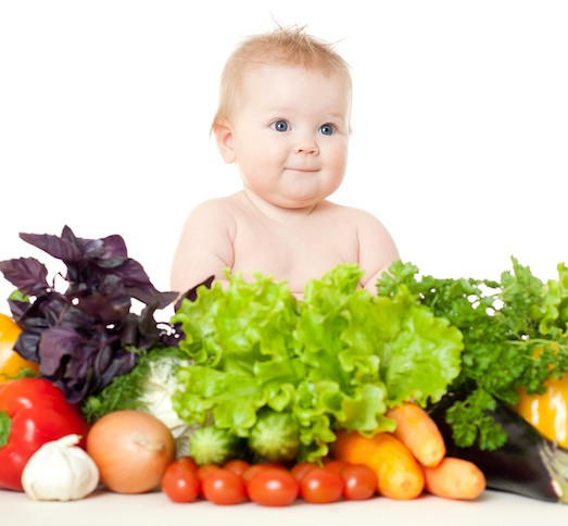 продукты и малыш