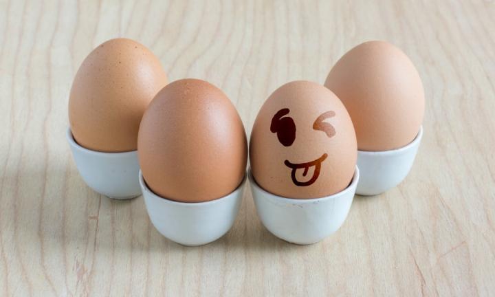 яйца веселые