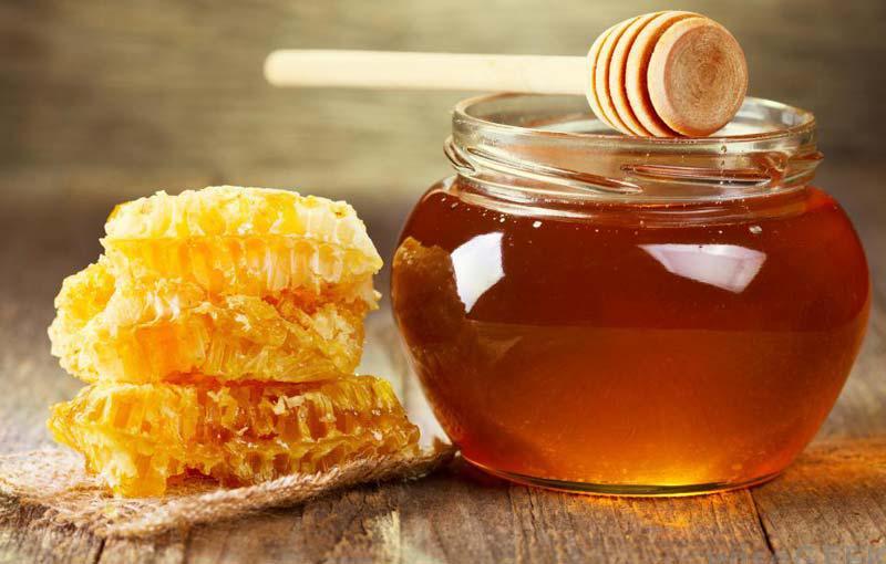 мед в горшке