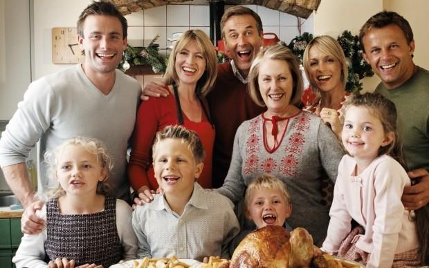 семья большая