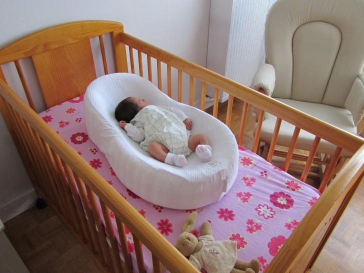 Матрас-кокон для новорожденного