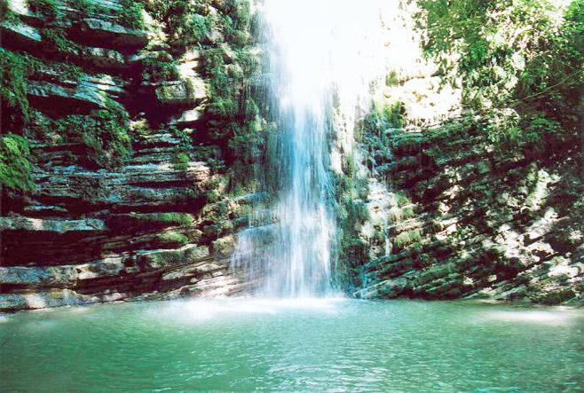 Водопад «Слезы Лауры»