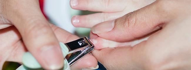 ногти малыша