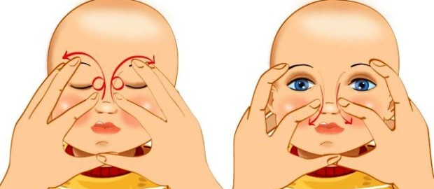 массаж слезного канала