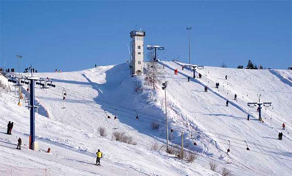 горнолыжный курорт «Яхрома