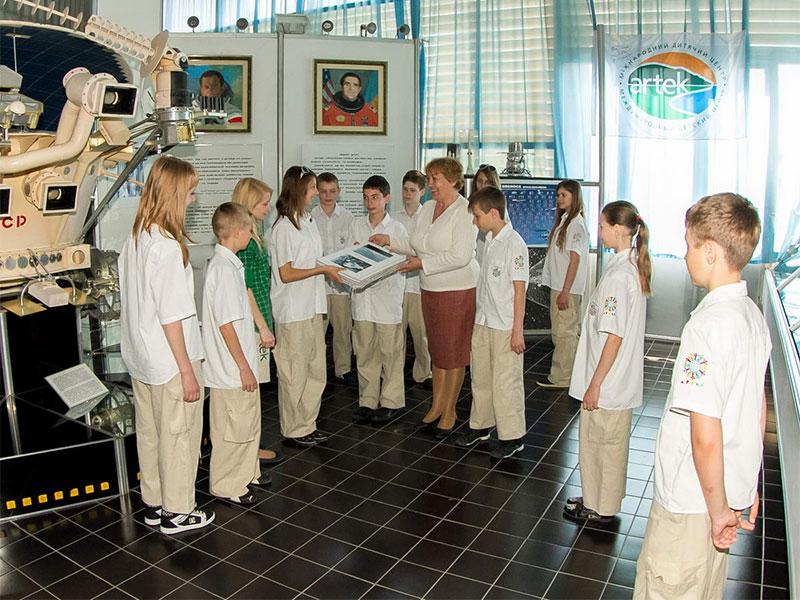 Музей космонавтики в «Артеке»