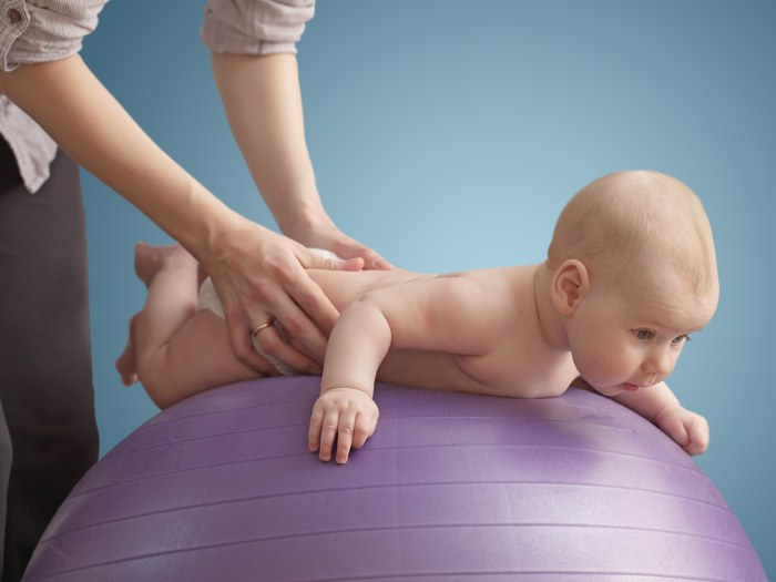 массаж грудничку