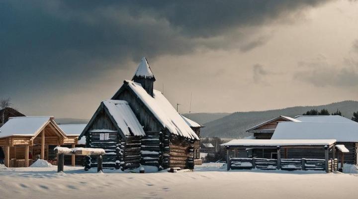 Архитектурно-этнографический комплекс «Тальцы»