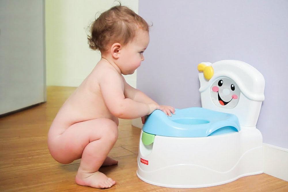 горшок для малышей